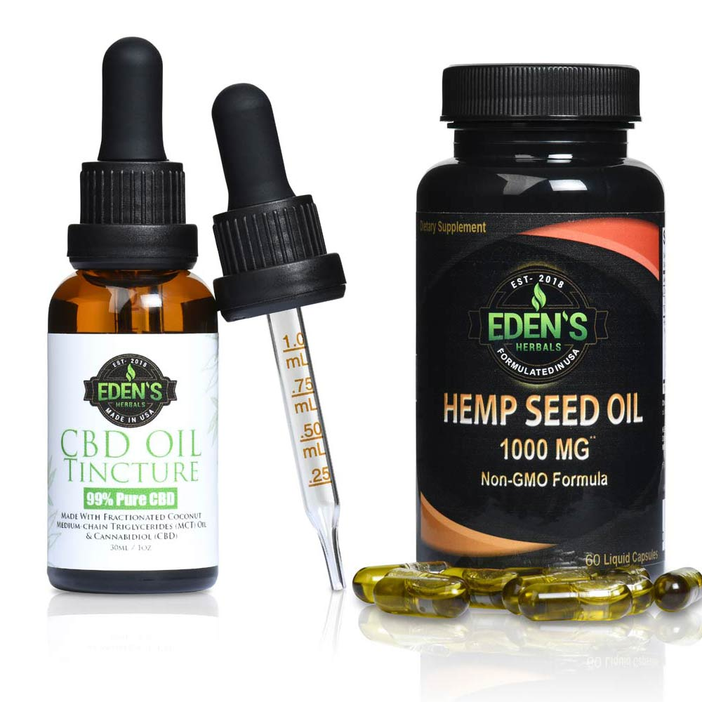 CBD Oil Tincture vs Hemp Seed