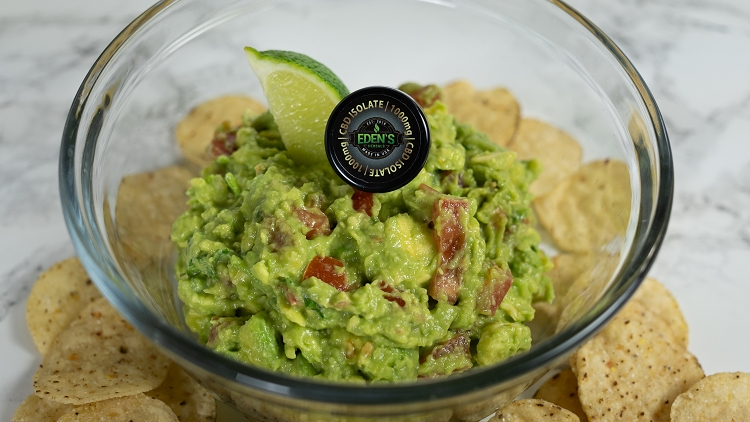 CBD infused guacamole recipe